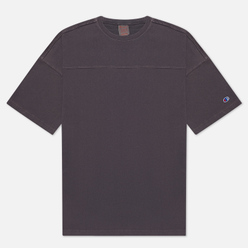 Мужская футболка Champion Reverse Weave Garment Dye Crew Neck Dark Grey