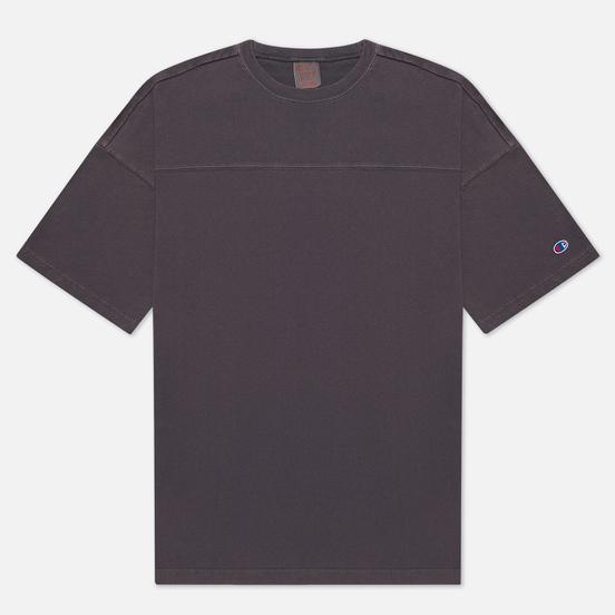 Мужская футболка Champion Reverse Weave Garment Dye Crew Neck Dark Grey