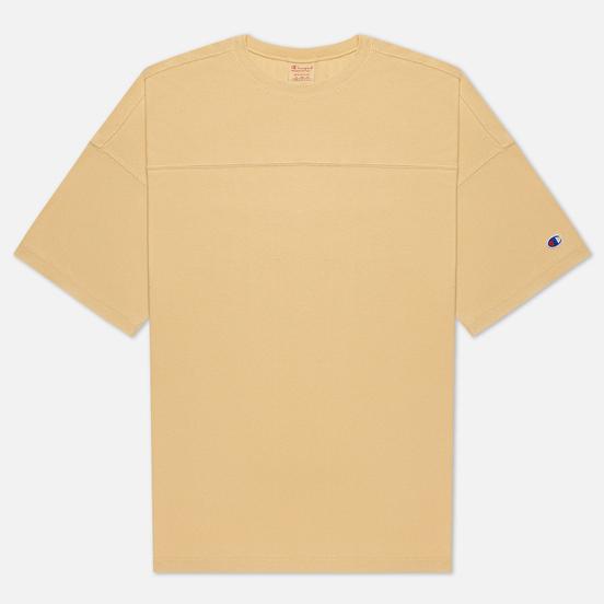 Мужская футболка Champion Reverse Weave Garment Dye Crew Neck Ochre