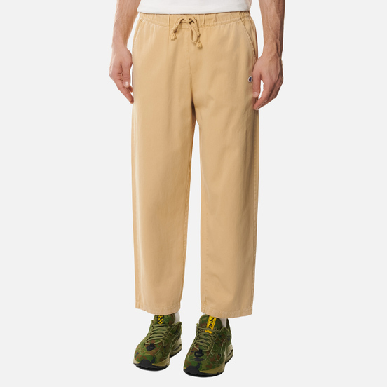 Мужские брюки Champion Reverse Weave Straight Leg Premium Cotton Track Light Brown