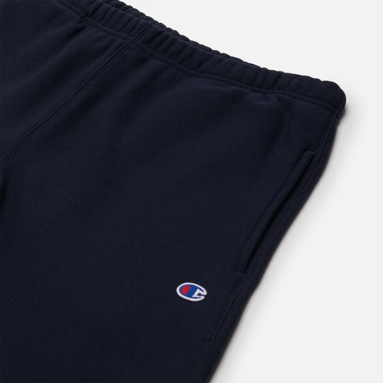Мужские шорты Champion Reverse Weave Long Bermuda Brushed Fleece New Navy