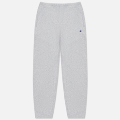 Мужские брюки Champion Reverse Weave Embroidered C Logo Joggers Light Grey