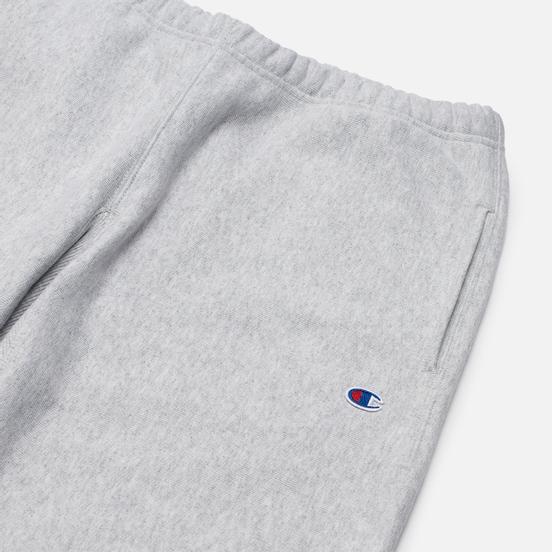 Мужские брюки Champion Reverse Weave Embroidered C Logo Joggers Light Grey