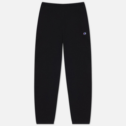 Мужские брюки Champion Reverse Weave Embroidered C Logo Joggers Black