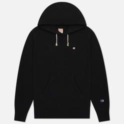 Мужская толстовка Champion Reverse Weave Small Logo Chest And Sleeve Hooded Black