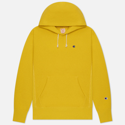 Мужская толстовка Champion Reverse Weave Small Logo Chest And Sleeve Hooded Gold Tips