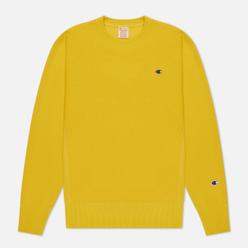 Мужская толстовка Champion Reverse Weave Small Logo Chest And Sleeve Crew Neck Gold Tips