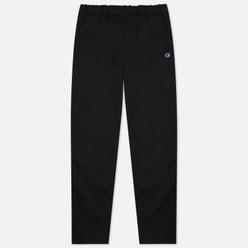 Мужские брюки Champion Reverse Weave Small Logo Straight Hem Black