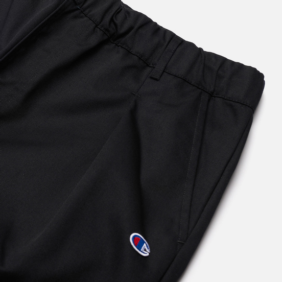 Мужские брюки Champion Reverse Weave Small Logo Straight Hem Black