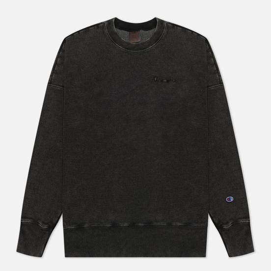 Мужская толстовка Champion Reverse Weave Script Logo Drop Shoulder Black