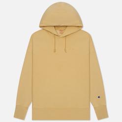 Мужская толстовка Champion Reverse Weave Script Logo Embroidery Hooded Light Brown