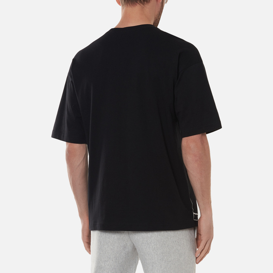 Мужская футболка Champion Reverse Weave Athletic Jersey Combed Number 17 Black