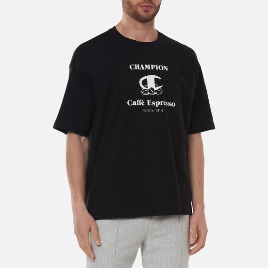 Мужская футболка Champion Reverse Weave Caffe Espresso Graphic Black