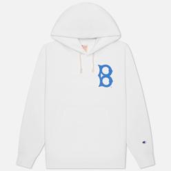 Мужская толстовка Champion Reverse Weave Brooklyn Dodgers Hoodie White