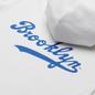 Мужская толстовка Champion Reverse Weave Brooklyn Dodgers Hoodie White фото - 2