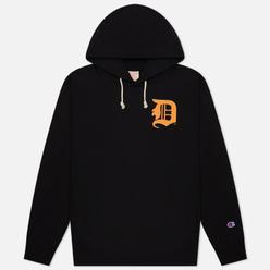 Мужская толстовка Champion Reverse Weave Detroit Tigers Hoodie Black