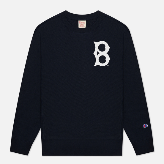 Мужская толстовка Champion Reverse Weave Brooklyn Dodgers Crew Neck Dark Blue