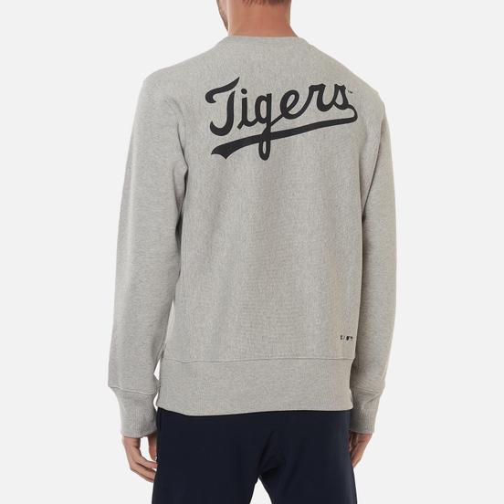 Мужская толстовка Champion Reverse Weave Detroit Tigers Crew Neck Light Grey