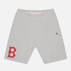 Мужские шорты Champion Reverse Weave Boston Red Sox Bermuda Light Grey
