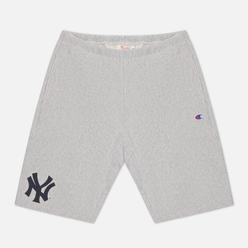 Мужские шорты Champion Reverse Weave New York Yankees Bermuda Light Grey