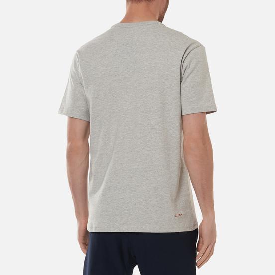 Мужская футболка Champion Reverse Weave Boston Red Sox Crew Neck Light Grey
