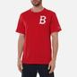 Мужская футболка Champion Reverse Weave Boston Red Sox Crew Neck Racing Red фото - 3