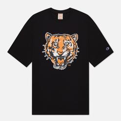 Мужская футболка Champion Reverse Weave Detroit Tigers Crew Neck Black