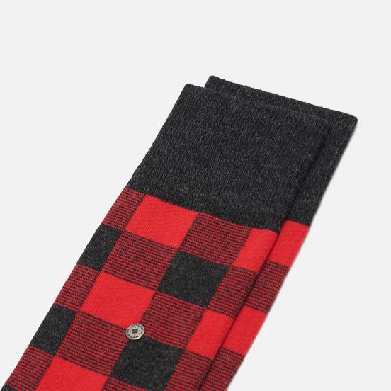 Носки Burlington Country Lumberj Grey/Red