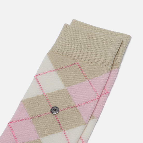 Носки Burlington Covent Garden Beige/Pink/White