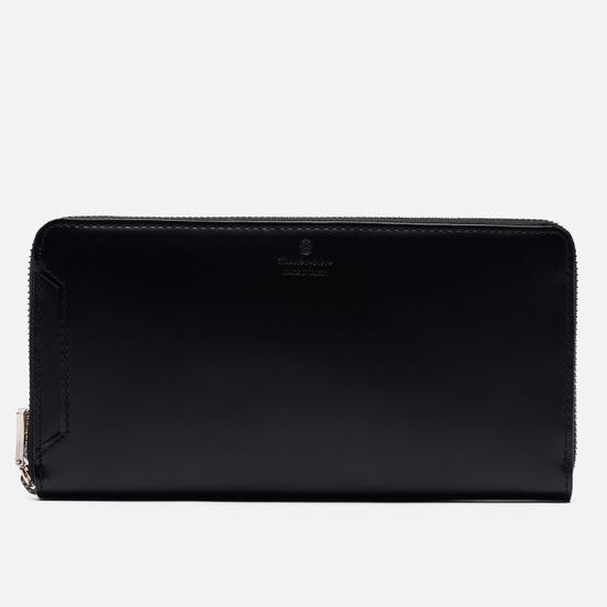 Кошелек Master-piece Notch Leather Round Zipper Black