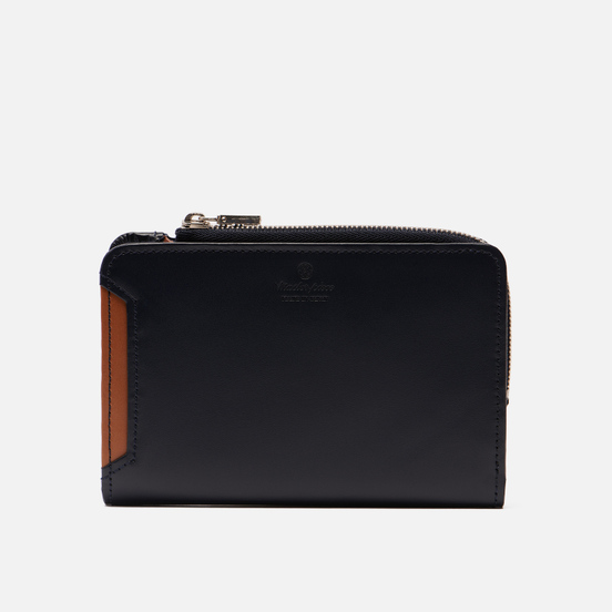 Кошелек Master-piece Notch Leather Middle Fastener Navy