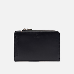 Кошелек Master-piece Notch Leather Middle Fastener Black