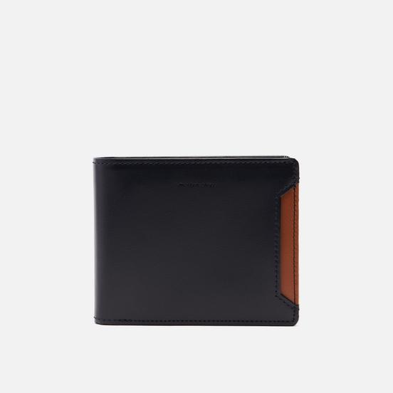 Кошелек Master-piece Notch Leather Billfold Middle Navy