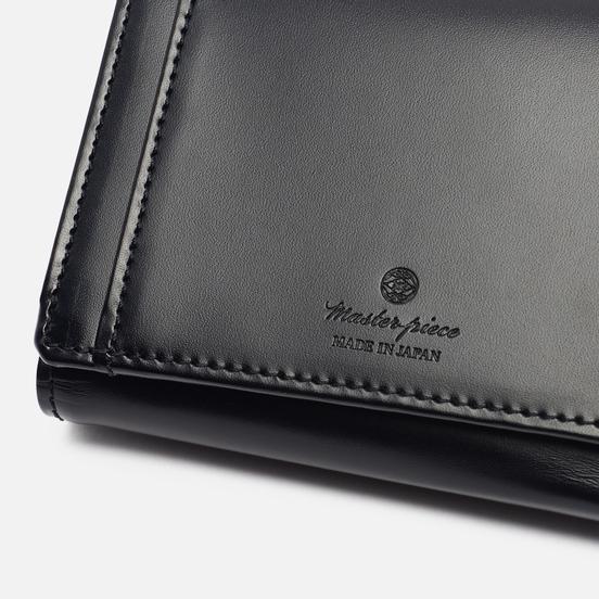 Кошелек Master-piece Notch Leather Middle Black