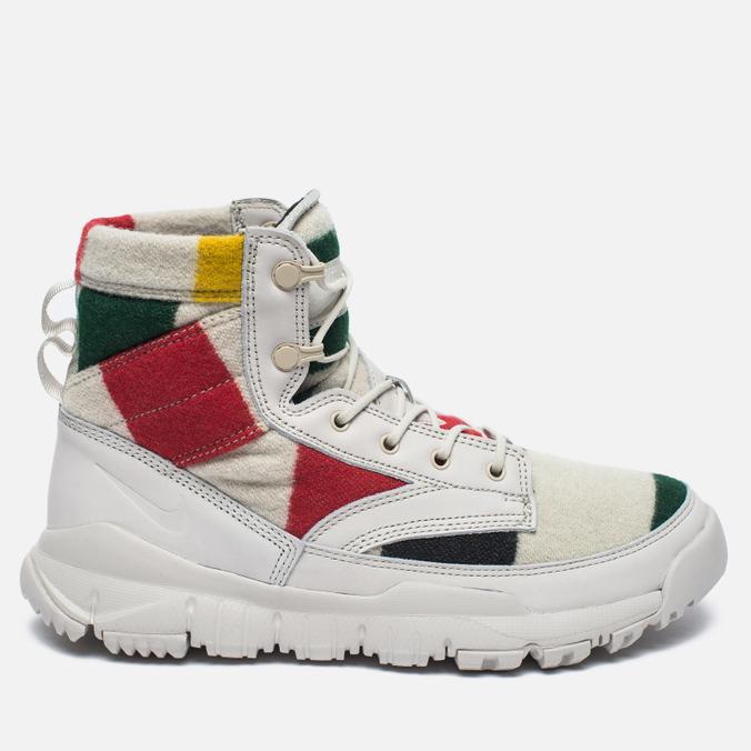 Мужские зимние ботинки Nike SFB Leather 6' NP QS Off White/Black