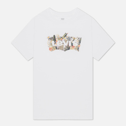 Мужская футболка Levi's Housemark Graphic White/Multi-Color