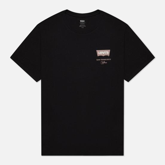 Мужская футболка Levi's Housemark Graphic San Francisco Caviar Black