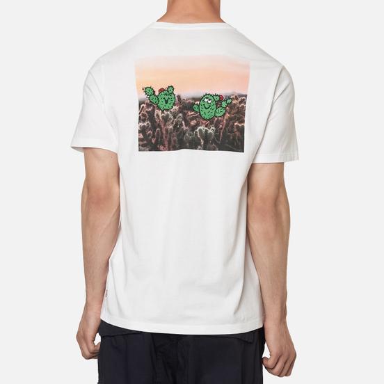 Мужская футболка Levi's Graphic Crewneck White/Multi-Color