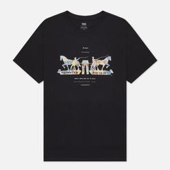 Мужская футболка Levi's 2-Horse Graphic Jet Black