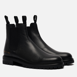 Мужские ботинки Common Projects Winter Chelsea Bumpy 2287 Black