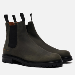 Мужские ботинки Common Projects Winter Chelsea 2288 Black