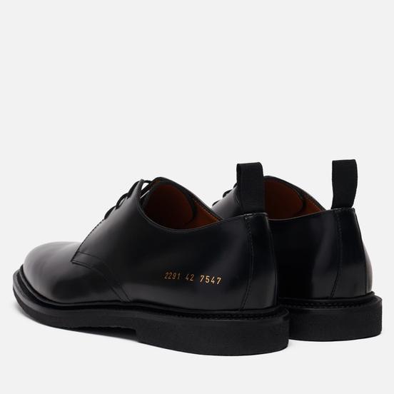 Мужские ботинки Common Projects Standard Derby 2291 Black