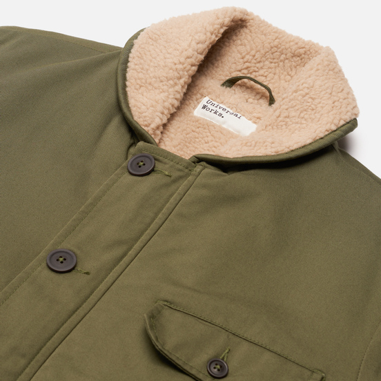 Мужская куртка Universal Works N1 Twill Light Olive