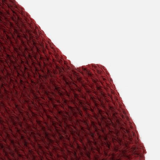 Шапка Universal Works Short Watch British Wool Red