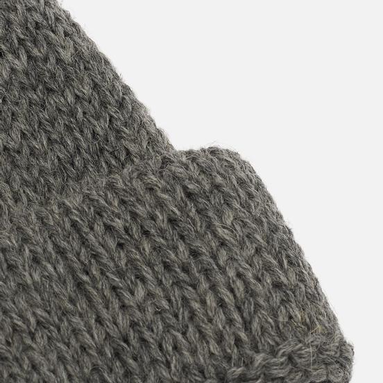 Шапка Universal Works Short Watch British Wool Steel