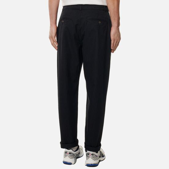 Мужские брюки Universal Works Military Chino Cotton/Nylon Pinstripe Black