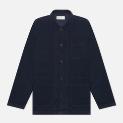 Мужская рубашка Universal Works Bakers Overshirt Fine Cord Navy