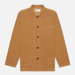 Мужская рубашка Universal Works Bakers Overshirt Fine Cord Taupe