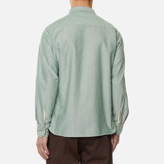Мужская рубашка Universal Works Everyday Oxford Green