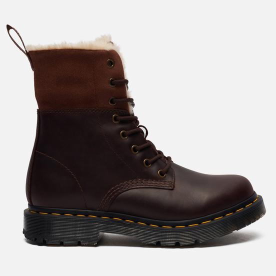 Женские ботинки Dr. Martens 1460 Kolbert Dark Brown